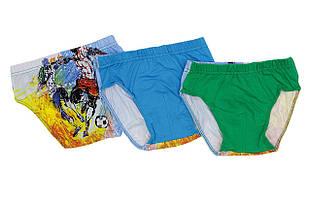 Детские трусы для мальчика DONELLA Турция 7671WFB, зеленые или голубые,