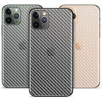 Карбоновая защитная пленка для iPhone 11 Pro Max
