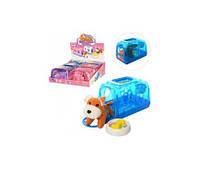 Собачка 812 (12см, аксесс, в чемодане, в кульке, 6шт(2цвета) в дисплее,34-32-11см(Зви 812)