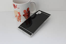 Чехол Mirror case для Samsung Galaxy Note 10 Plus (N975) силикон зеркальный темный металлик