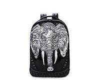 Черный рюкзак Слон, фото 1