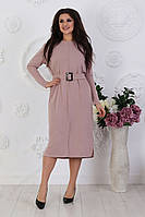 Женское ангоровое платье миди полубатал р. 48-52
