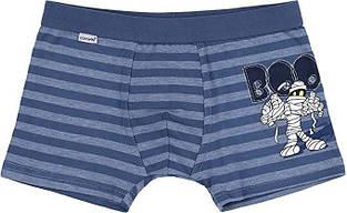 Детские трусы для мальчика CORNETTE Польша Kids BOO сине-голубые