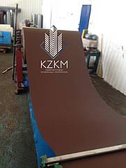 Гладкий лист матовый коричневый цвет RAL 8017 pema, купить РАЛ 8017 цвет шоколад плоский матовый рулон