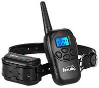 Ошейник IPetDog электронный водонепроницаемый для дрессировки собак аккумулятор от USB  iT798 ресивер 500 мАч, фото 1