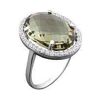 Серебряное кольцо  GS с крупным камнем