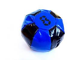 Медбол 8 кг черно-синий