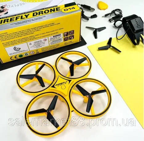 Хит и новинка продаж!!! Квадрокоптер дрон FireFly Tracker SJ 360  нового поколения с управлением жестами руки