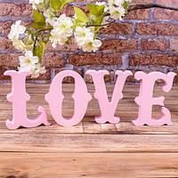 Любовь (LOVE) из пенопласта\ полистирола