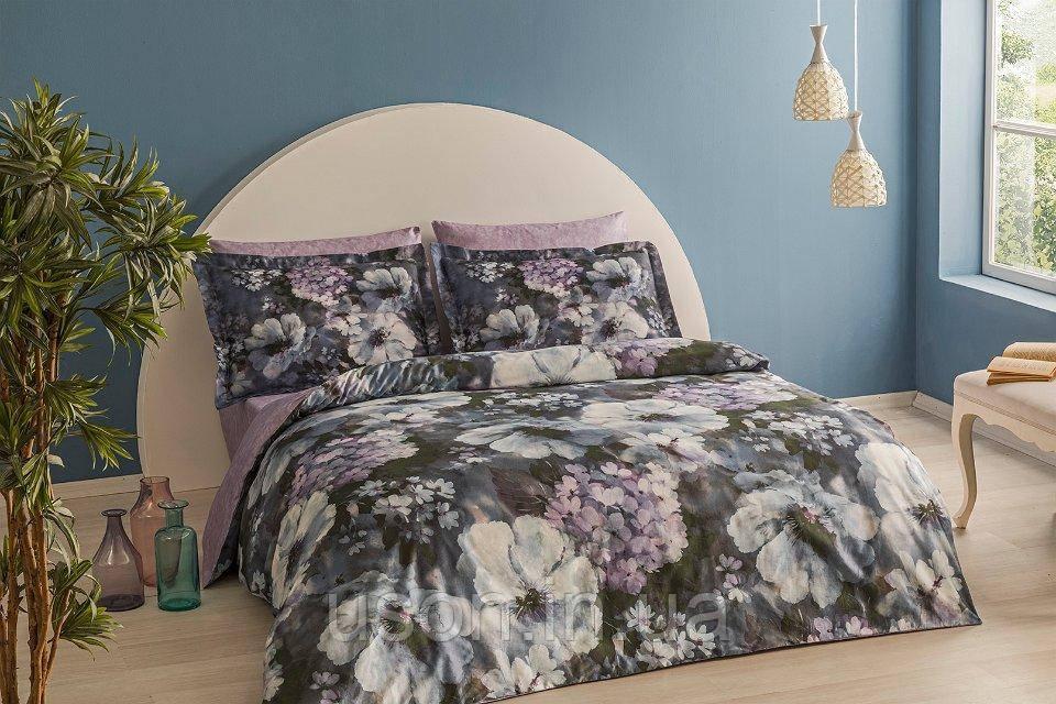 Комплект постельного белья  Тм TAC сатин-бамбук SAPHIRA