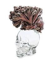 Графин декоративный Стеклянный череп Veronese WS-1028