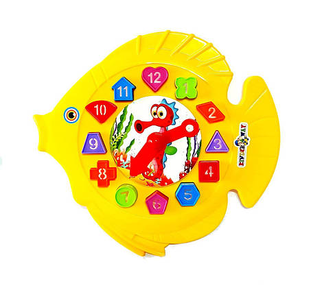 """Игра """"Рыбка"""", часы, сортер, 40-001, фото 2"""