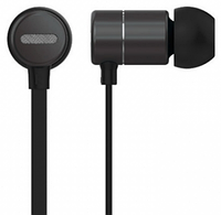 Вакуумні навушники з мікрофоном Celebrat C10 Чорні