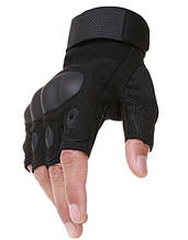 Мужские Тактические Перчатки с Ударными Вставками Открытые