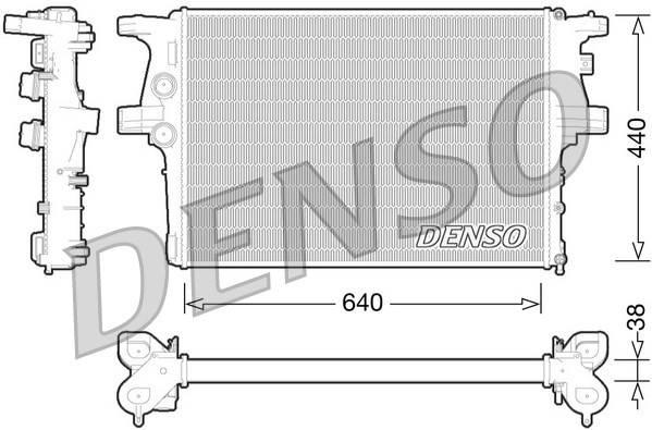 Основной радиатор двигателя IVECO DAILY  (DRM12008/5801264635), фото 2