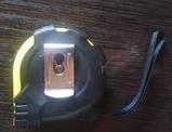 """Рулетка измерительная """"STANDART"""" 5 метров с фиксатором и магнитом ST285-5, фото 2"""