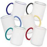 Чашка 330 мл, (синя, чорна, темно-зелена, помаранчева, червона), фото 10