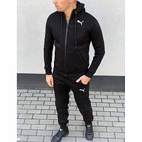 Спортивный костюм Puma  зима черный
