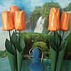 Тюльпаны на стойке Большие ростовые цветы из изолона
