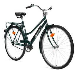 Велосипед АІСТ 28-240 / AIST City classic /Варена рама / Жіночий ,дорожній , міський (Товста рама) Зелений
