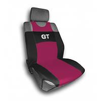 Комплект чехлов на сидения  автомобиля(майки)  314с (2 предмета) бордо GT