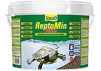 Корм для рептилий  Tetra ReptoMin 10L/2.7кг