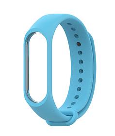 Ремешок силиконовый Xiaomi, для фитнес-браслета Xiaomi mi band 3, голубой
