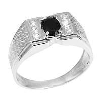 Мужское кольцо GS  из серебра