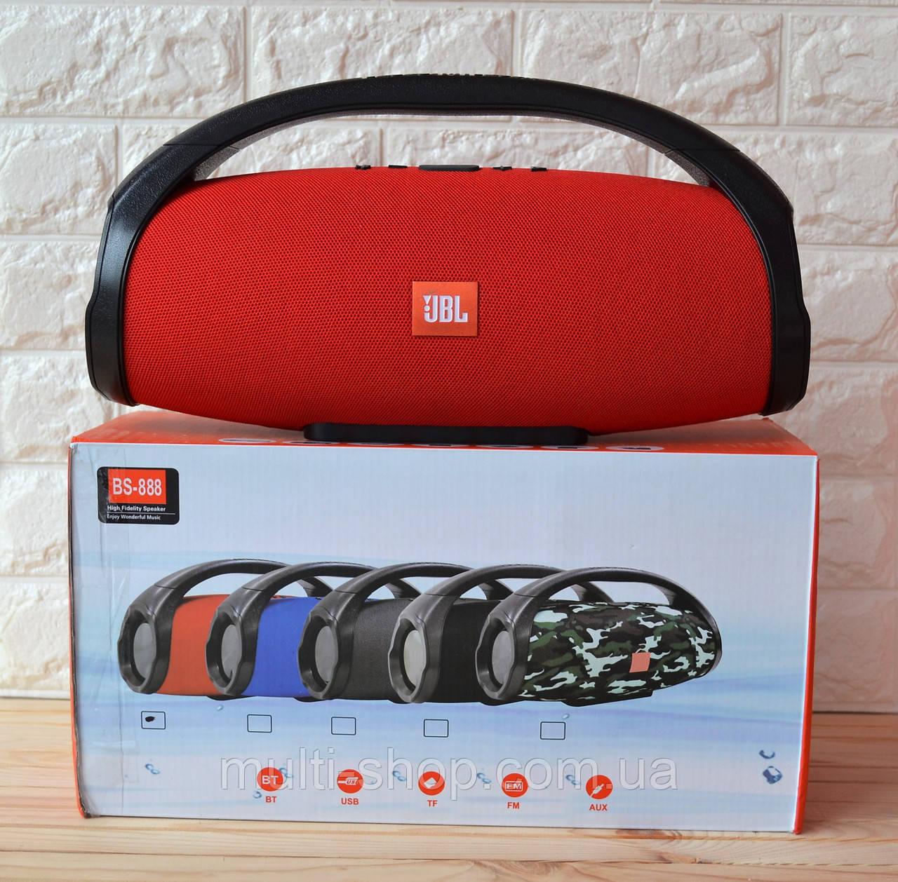 Портативная акустика/блютуз колонка Booms box Big MAXI большая BS 888