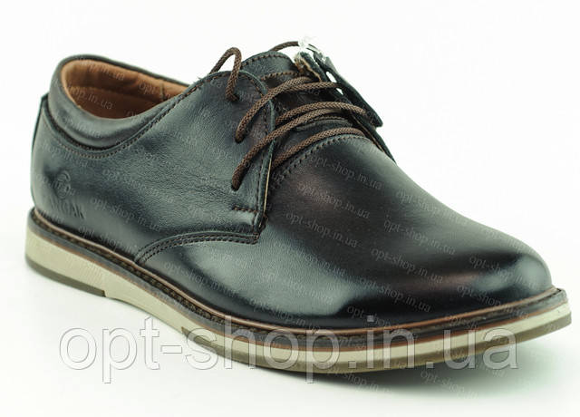 Кожаные туфли для мальчика