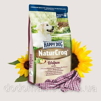 Сухой корм для щенков Хеппи Дог Натур Крок Happy Dog NaturCroq Puppies 15 кг