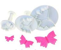 """Набір плунжерів кондитерських для мастики, марципана, тіста  """"Метелики маленькі"""""""