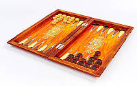 Нарды настольная игра деревянные (дерево, р-р доски 42см x 46см)