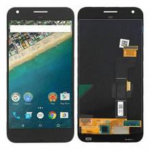 Дисплей Google Pixel XL 5.5, Nexus M1 с сенсором (тачскрином) серый, Amoled, Оригинал Китай