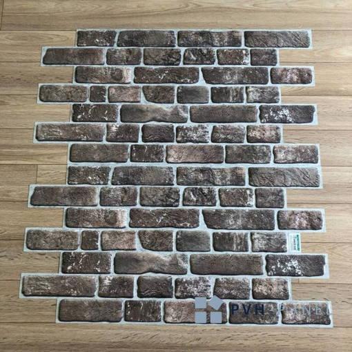 Пластиковая Декоративная Панель ПВХ Регул Ретро коричневый 955*488 мм