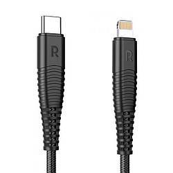 Кабель RAVPower Type-C To Lightning 3.3FT/1M Cable - Black (RP-CB020)