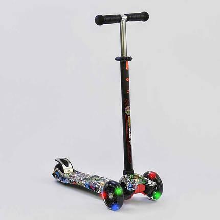 Самокат MAXI Best Scooter пластик, з 4 колесами, A24642/779-1386, фото 2
