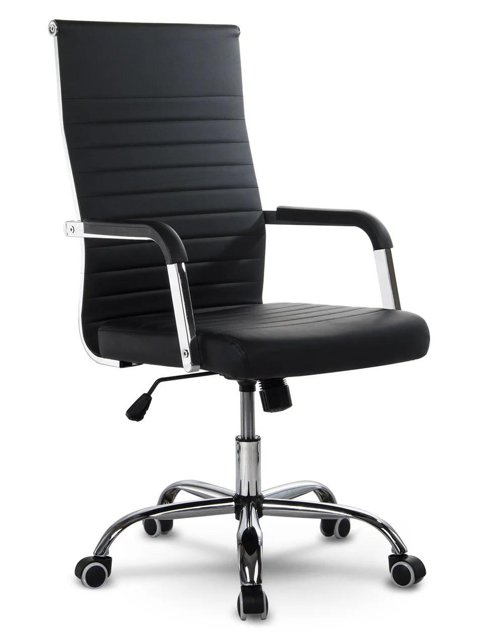 Крісло офісне Sofotel Boston чорний (9163)