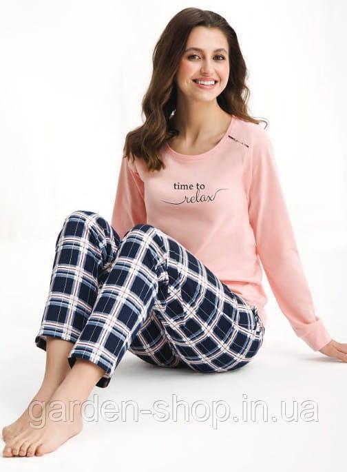 Піжама жіноча LUNA 470 комплект кофта та штани, розмір M