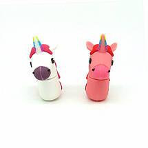"""Оригинальная флешка-игрушка """"Единорог"""" 32 Гб (цвет: розовый), фото 3"""