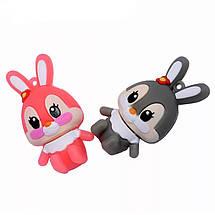 """Флешка """"Кролик"""" (цвет: серый/розовый) 32 Гб, фото 3"""