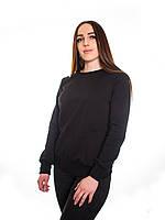 Bono Свитшот женский черный  №651 950101
