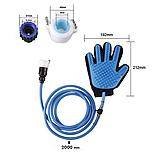 Перчатка-душ для мойки животных 2Life QL-018 Голубой (n-475), фото 4