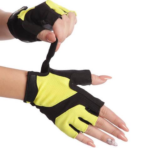 Жіночі рукавички для фітнесу MARATON 01-9662A, фото 2