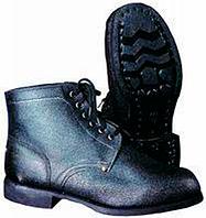 Ботинки гвоздевые кожанные