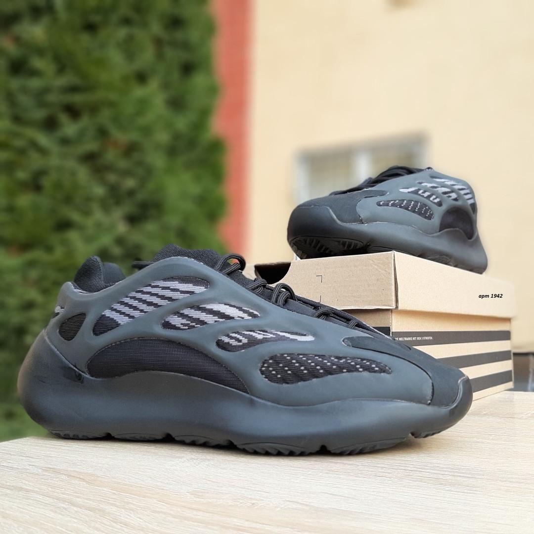 Мужские Кросcовки Adidas Yeezy 700 V3 черные