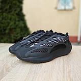 Чоловічі Кросівки Adidas Yeezy 700 V3 чорні, фото 5