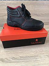 Ботинки кожа Červa рабочие демисезон стальной подносок МБС антипрокольная пластина S1P SRC черные, фото 3