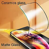 Защитное стекло пленка Ceramics Anti-shock Glass Matte Xiaomi Redmi Note 8