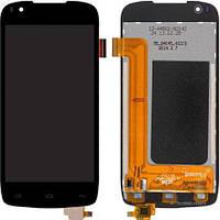 Дисплей (экран) для телефона Fly IQ4405 Quad Evo Chic 1 + Touchscreen (copy) Black
